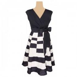 Per Una - Flowing Linen Dress  Sz. 8