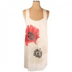 Mina UK - Poppy Print Shift Dress  Sz. 10 -12