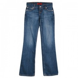 Levi's - Eve Square Cut Straight Leg Jeans Sz. 6 R
