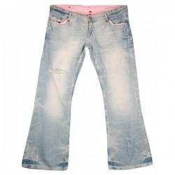 River Island - Boyfriend Fit Slouch Jeans Sz. 16 R