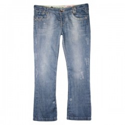 River Island - Relaxed Bootleg Jeans Sz. 16 L