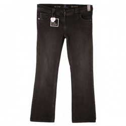 River Island - Sexy Bootleg Black Stretch Jeans Sz. 16 L