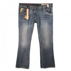 River Island - Relaxed Bootleg Jeans Sz. 16 S
