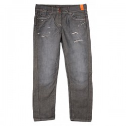 River Island - Boyfriend Fit Distressed Jeans Sz. 12 S