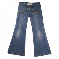 River Island - Wide Leg Flare Jeans Sz. 10 R