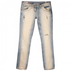 River Island - Supreme Slashed Skinny Fit Jeans Sz. 10 S