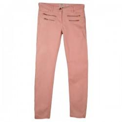 River Island - Pink Skinny Zip Jeans Sz. 12 R