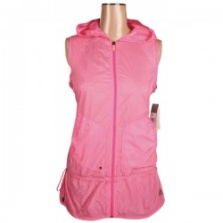 Adidas - Clima 365 Pink Running Training Hooded Top Sz. 16