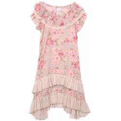 Next -  Floral Ruffle Charleston Dress Age 10