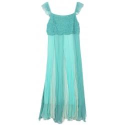 Monsoon - Flowing Teal Princess Dress Age 10 - 11/redo listing