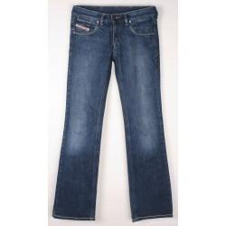 Diesel - Hush Skinny Fit Blue Jeans Sz. 8 L