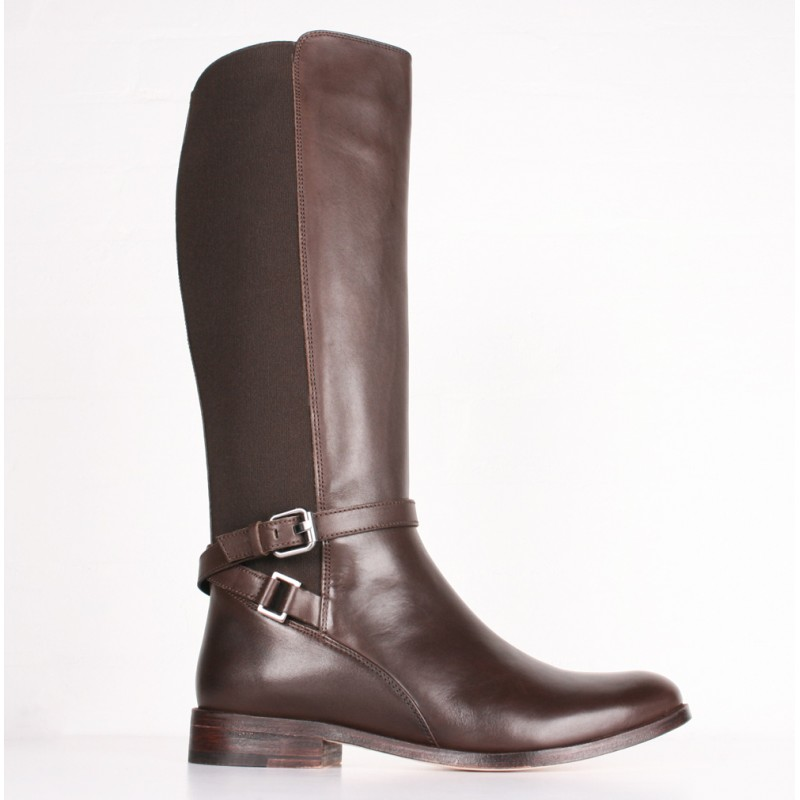 quality cute cheap exclusive range Joules - Womans Lamport Leather Brown Equestrian Riding Boots 5 UK