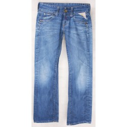 Replay - Straight Leg Low Rise Jeans Sz. 8 S
