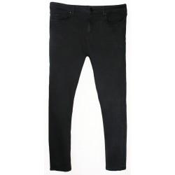 River Island - Live & Uncut Acid Wash Super Skinny Cropped Jeans Sz. 14