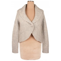 Phase Eight - Chunky Knit Cropped Cardigan Top  Sz. 14