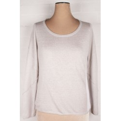 POETRY - Linen Lagenlook sweater top Sz. 8