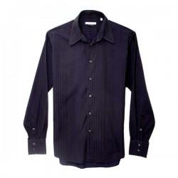 Versace - Vintage Collection Blue Stripe Shirt  Size XL