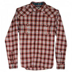 Burton London - Pop Button Check Shirt  Sz. S