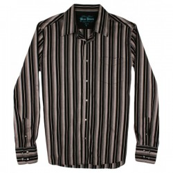 River Island - Stripe Long Sleeve Shirt  Sz. L