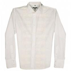 Sixty - Mexican Wedding Guayabera Designer Shirt  Sz. XL