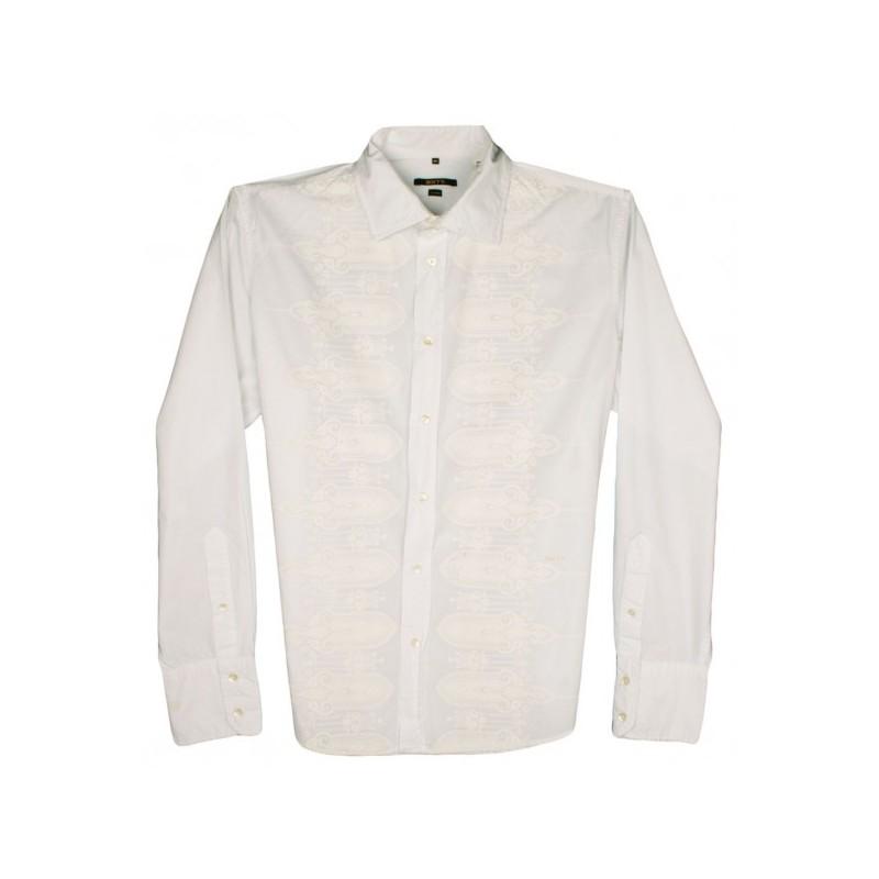 Mexican Wedding Shirt.Sixty Mexican Wedding Guayabera Designer Shirt Sz Xl