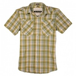 Firetrap - Sheldon Check Short Sleeve Shirt Sz. S