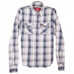 Superdry - Classic Check Shirt  Sz. M
