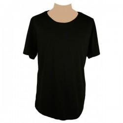 River Island - Black Embellished Clubbing T-Shirt  Sz. L