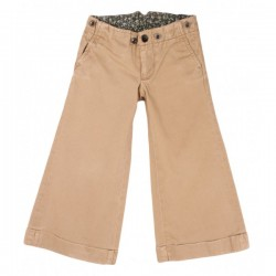Ralph Lauren - Tan Flared Trousers 3 yrs