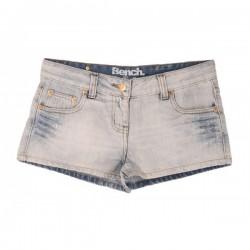 Bench - Stone Washed Denim Hotpants Shorts Sz. 10