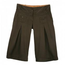Next - Khaki High Waist Culotte Shorts  Sz. 10