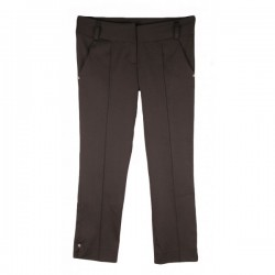 River Island - Black Sleek Cropped Trousers  Sz. 10