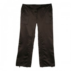River Island - Black Evening Cropped Trousers  Sz. 10
