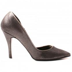 River Island - 80's Shimmer Heels  5 UK