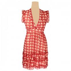 Yumi - Love Hearts Ruffle Dress Sz. 14