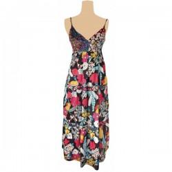 Monsoon - Floral Print Flowing Maxi Dress  Sz. 14