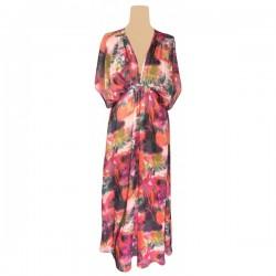 River Island - Tropical Print Maxi Dress Sz. 8