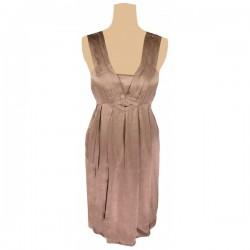 Topshop - Silk Art Deco Cocktail Dress Sz. 14