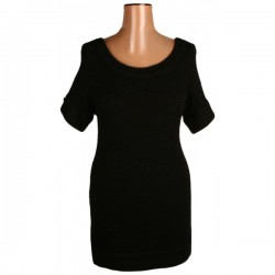 River Island - Black Jumper Dress  Sz. 10